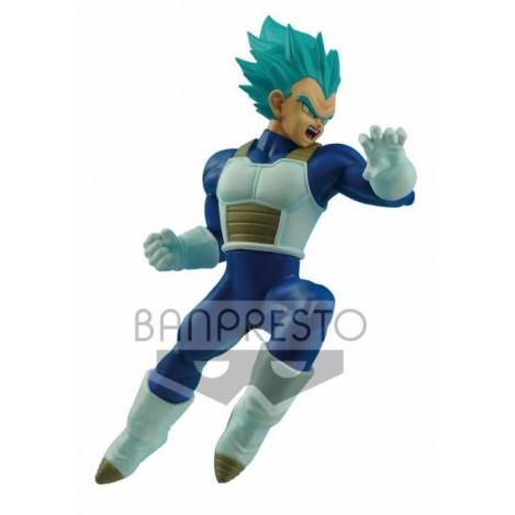 Figura Super Saiyan Vegeta Azul Flight Fighting- Dragon Ball Super