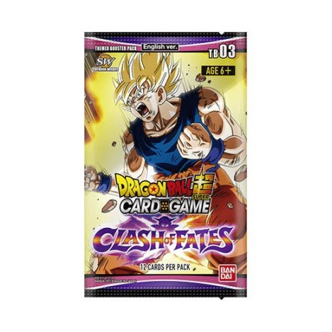 Dragon ball Super Card Game Temporada 3 Clash of Fates (Edición Inglés) - Dragon ball