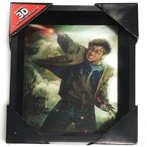 Póster 3D Harry Potter