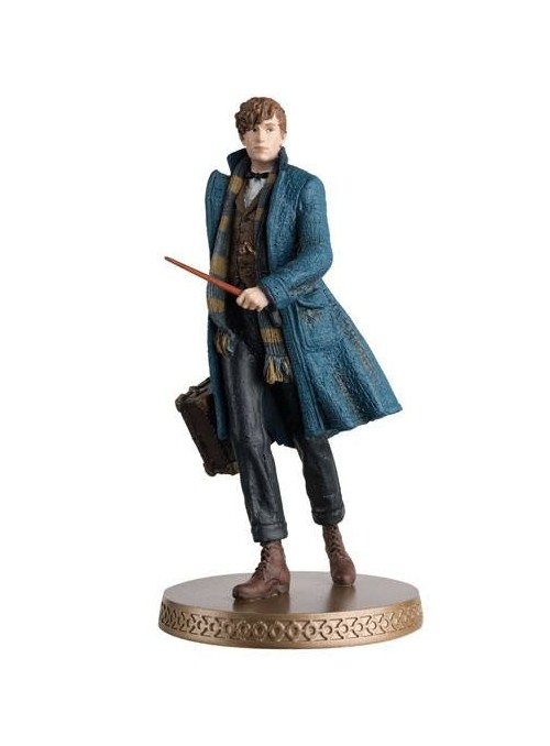 Figura Newt Scamander Wizarding World Figurine Collection - Animales Fantásticos