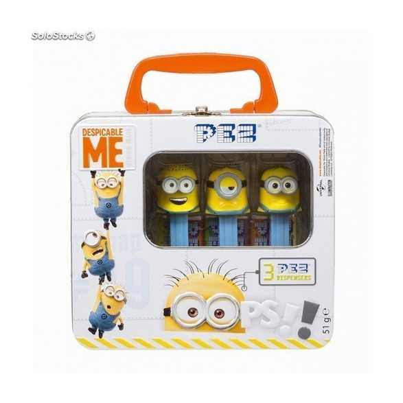 Maletin de Metal Minion PEZ