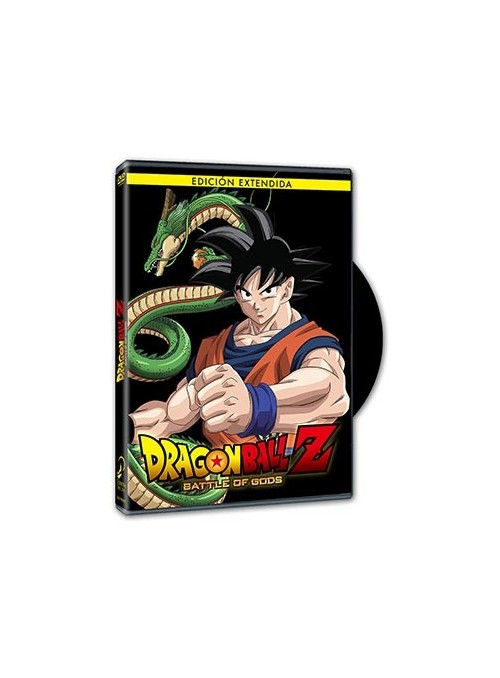 DRAGON BALL Z BATTLE OF GODS. DVD Edición Extendida.