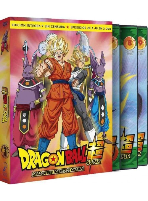 Dragon Ball Super. Box 3 DVD