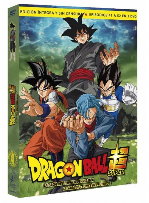 Dragon Ball Super. Box 4 DVD