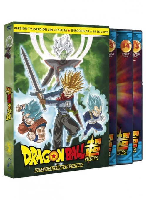 Dragon Ball Super. Box 5 DVD