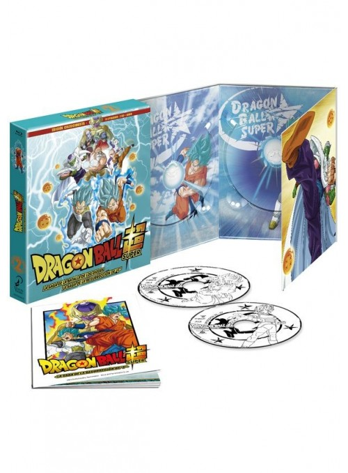 Dragon Ball Super BOX 2 BD la saga de la Resurreción Edicion Coleccionista-Dragon Ball
