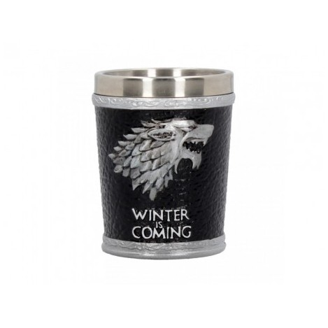Vaso de Chupito Winter is Coming - Juego de Tronos