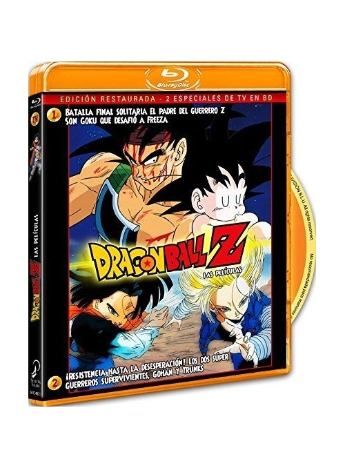 DRAGON BALL Z. TV Special 1/2 Blu-Ray
