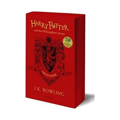 Harry Potter and the Philosopher's Stone (Gryffindor Edition) English