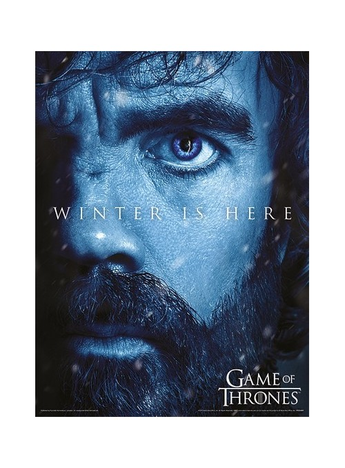 Poster Tyrion Winter is Coming - Juego de Tronos