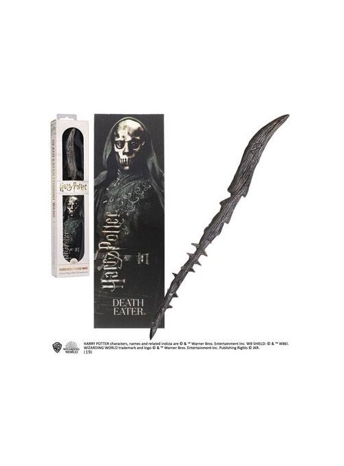Varita Mágica Mortífagp Death Eater PVC 30 cm - Harry Potter