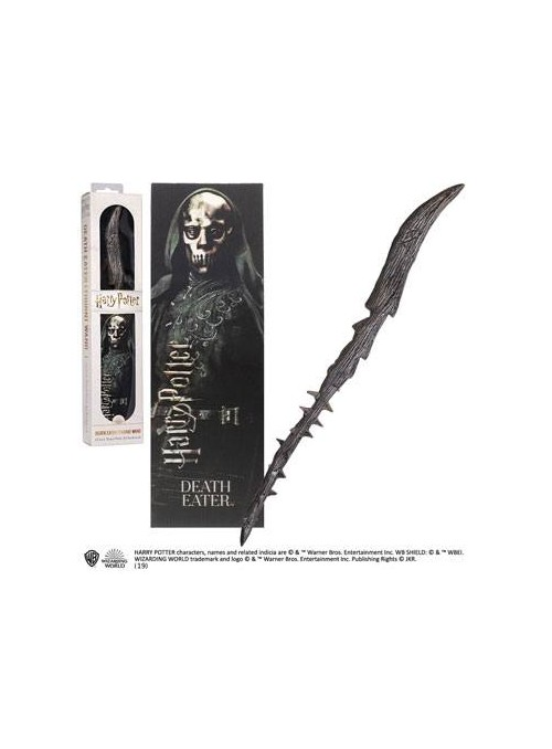 Varita Mágica Mortífago Death Eater PVC 30 cm - Harry Potter