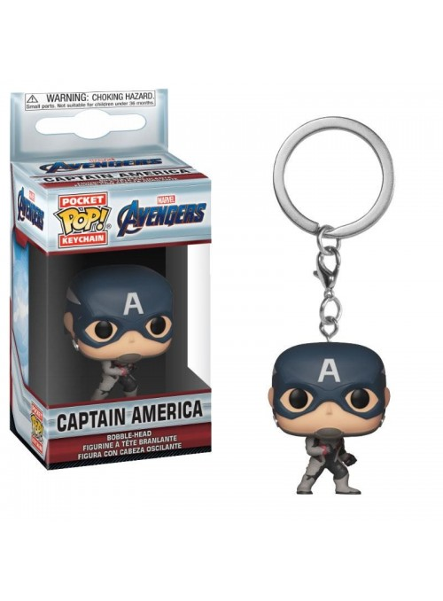 Llavero Pocket POP Capitan America - Avengers: Endgame