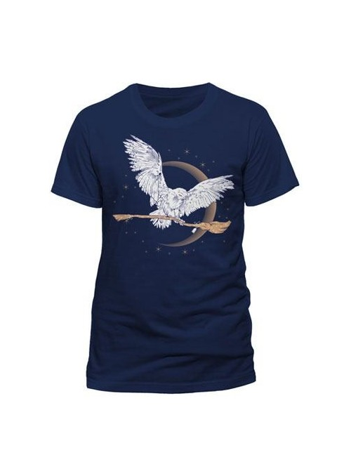 Camiseta Hombre Hedwig - Harry Potter