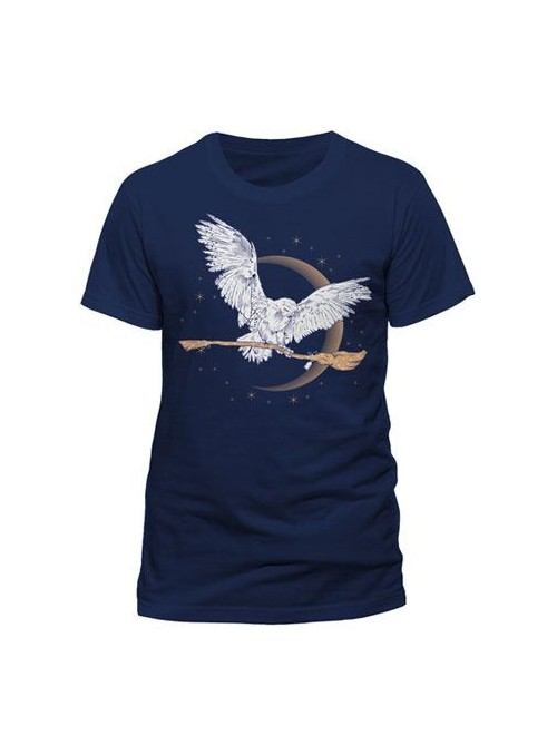 Camiseta Basic Hombre Hedwig - Harry Potter