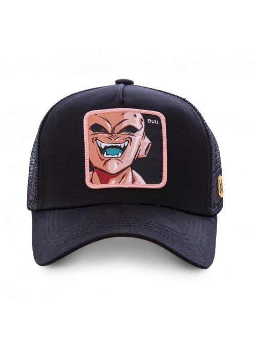 Gorra Capslab negra Buu - Dragon Ball