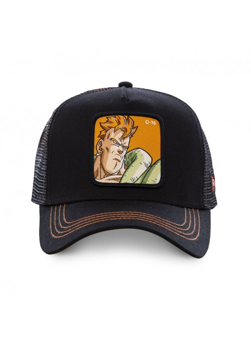 Gorra Capslab negra C-16 - Dragon Ball