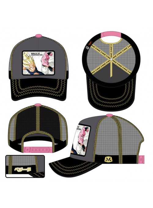 Gorra Capslab negra Minute of Desperation - Dragon Ball