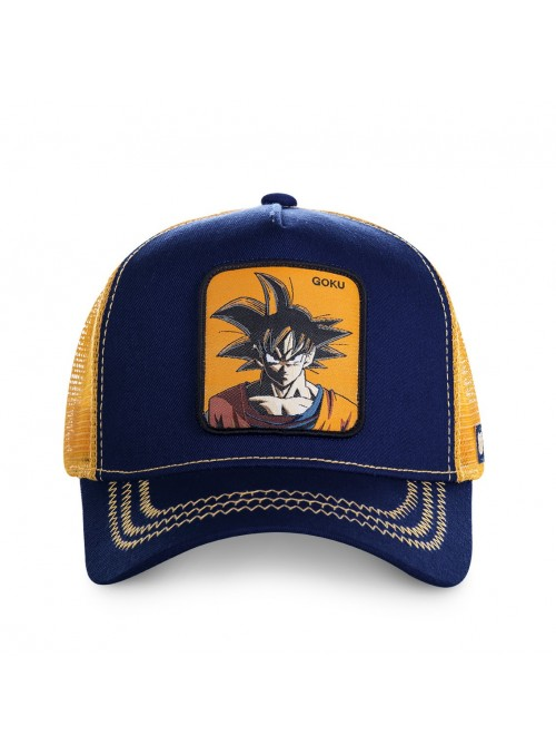 Gorra Capslab azul Goku - Dragon Ball