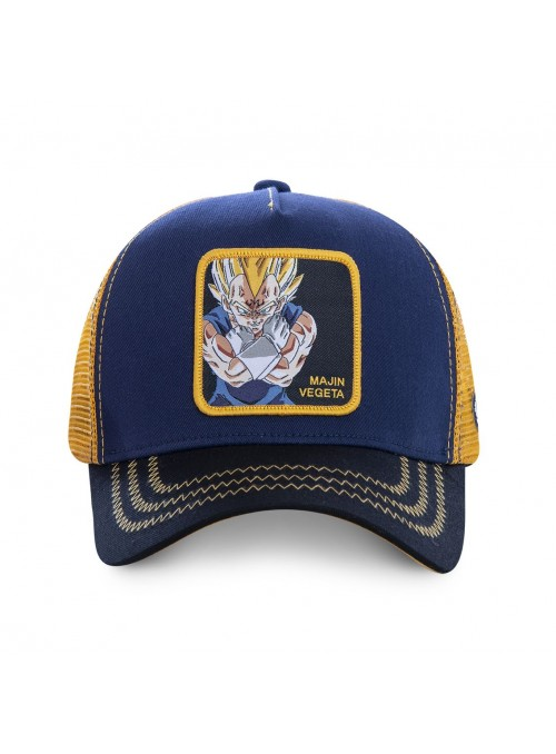 Gorra Capslab azul Majin Vegeta - Dragon Ball