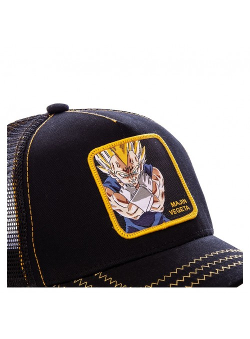 Gorra Capslab negra Majin Vegeta - Dragon Ball