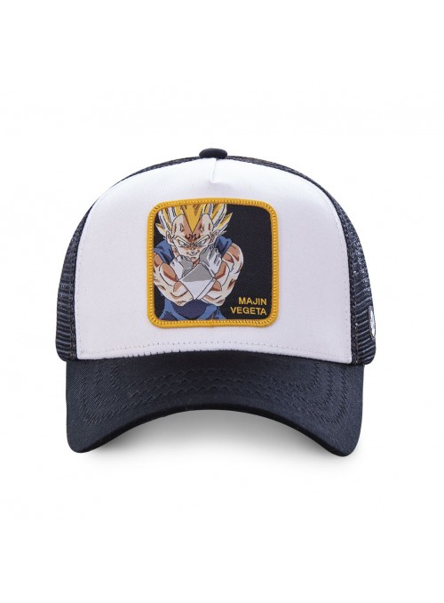 Gorra Capslab blanca Majin Vegeta - Dragon Ball