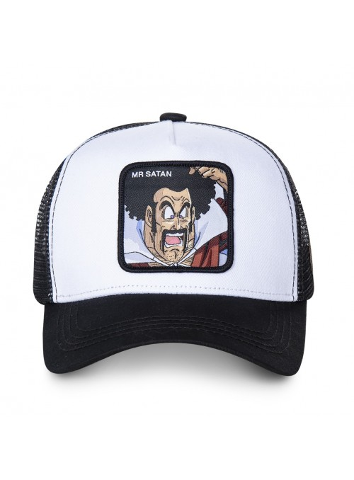 Gorra Capslab blanca Mr. Satan - Dragon Ball