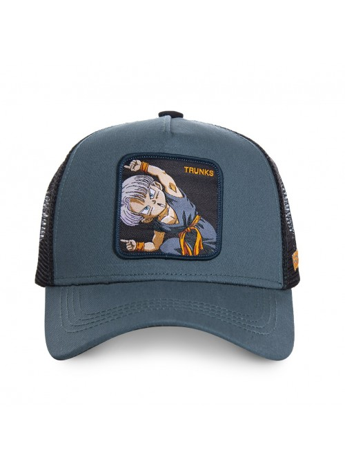 Gorra Capslab gris Trunks - Dragon Ball