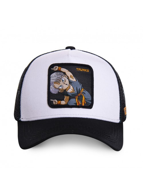 Gorra Capslab blanca Trunks - Dragon Ball