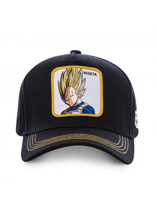Gorra Capslab negra Vegeta - Dragon Ball