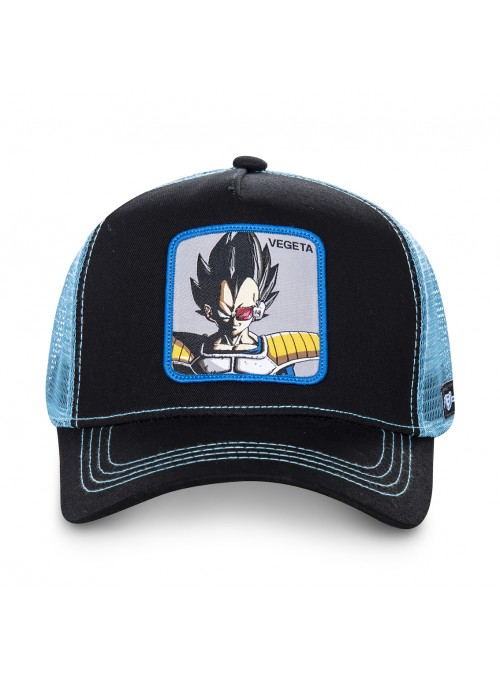 Gorra Capslab negra y azul Vegeta - Dragon Ball