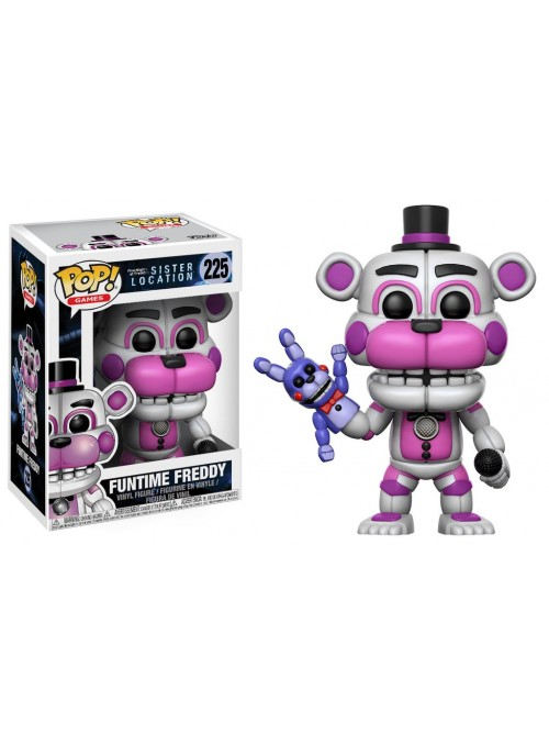 Figura Funko POP Funtime Freddy - Five Nights at Freddy's Sister Location
