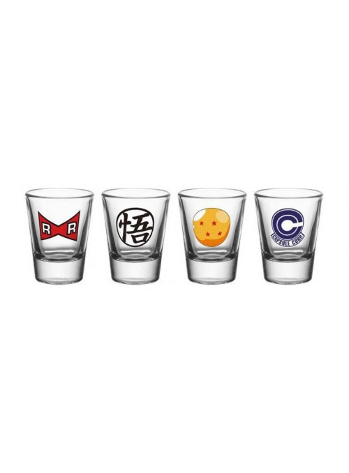 Vasos de Chupito Mix - Dragon Ball