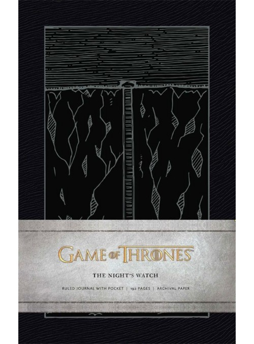 Libreta The Night's Watch - Juego de Tronos