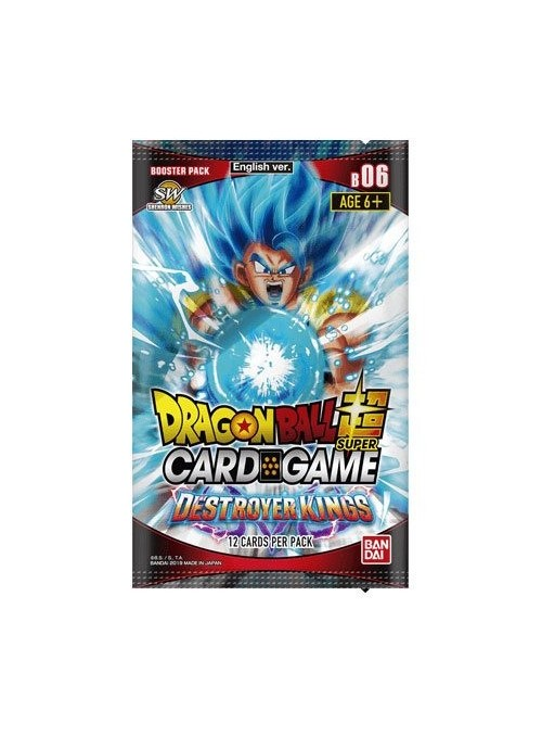 Cartas Dragonball Super Destroyer Kings Season 6 (Edición Ingles) - Dragon Ball