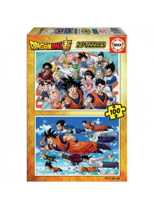 Puzzles 2x100 Dragón Ball Super