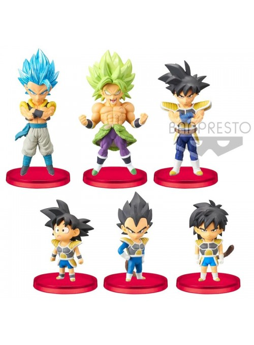 Figura World Collectable - Dragon Ball Super Broly - Dragon Ball Super