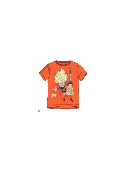 Camiseta naranja Super Saiyan - Dragon Ball