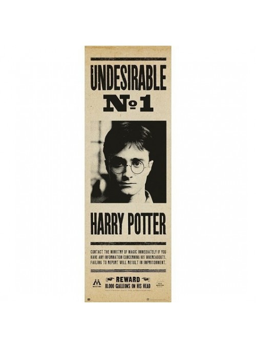 Poster Puerta Undesirable nº1 - Harry Potter