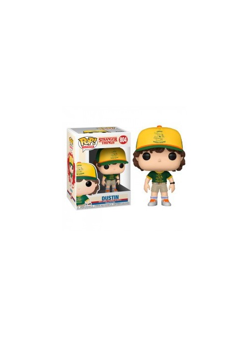 Figura Funko POP Dustin (At Camp) (3ra Temporada) - Stranger Things