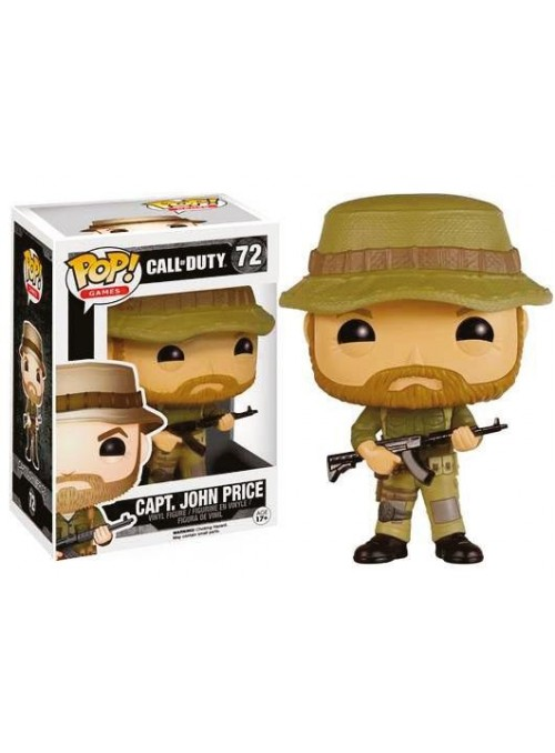 Figura Funko POP Capt. John Price - Call of Duty