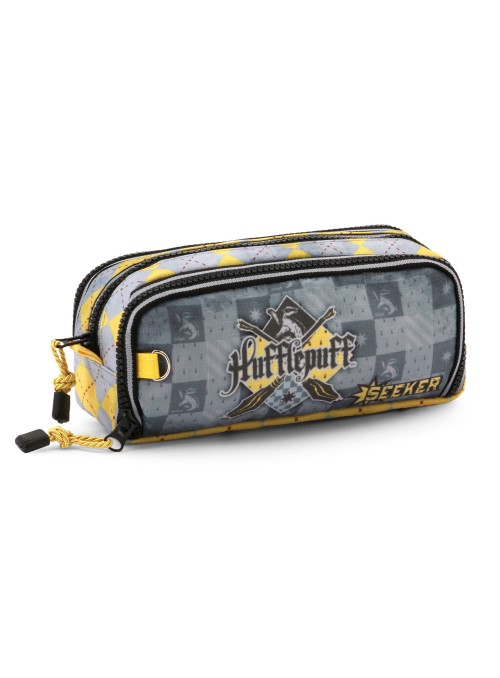 Estuche Quidditch Dos Laterales Hufflepuff - Harry Potter