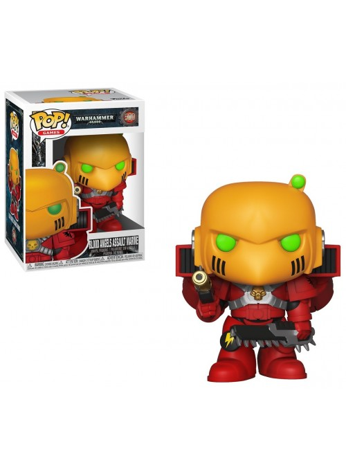 Figura Funko POP Blood Angels Assault Marine - Warhammer 40K