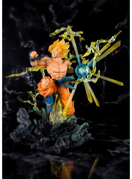 Figura Super Saiyan Son Goku Tamashii Exclusive 20 cm -Dragon ball