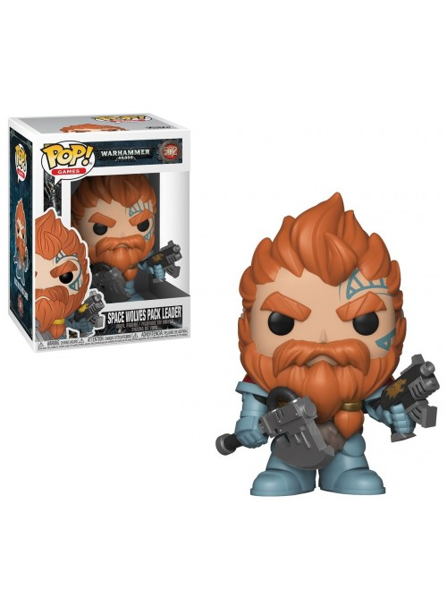 Figura Funko POP Space Wolves Pack Leader - Warhammer 40K