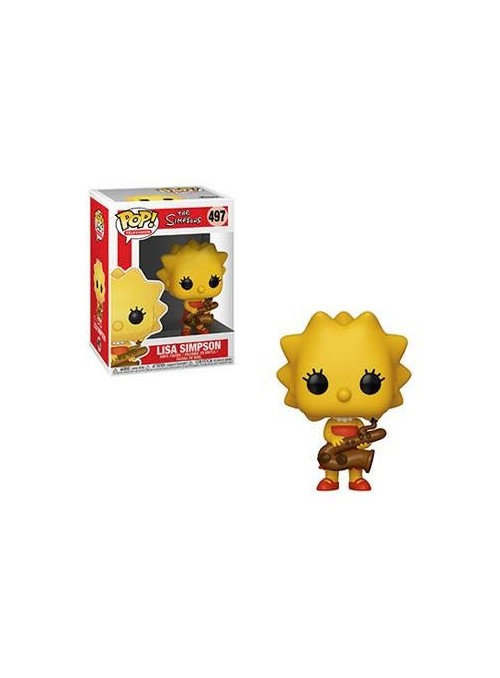 Figura Funko POP Lisa with Saxophone - The Simpsons