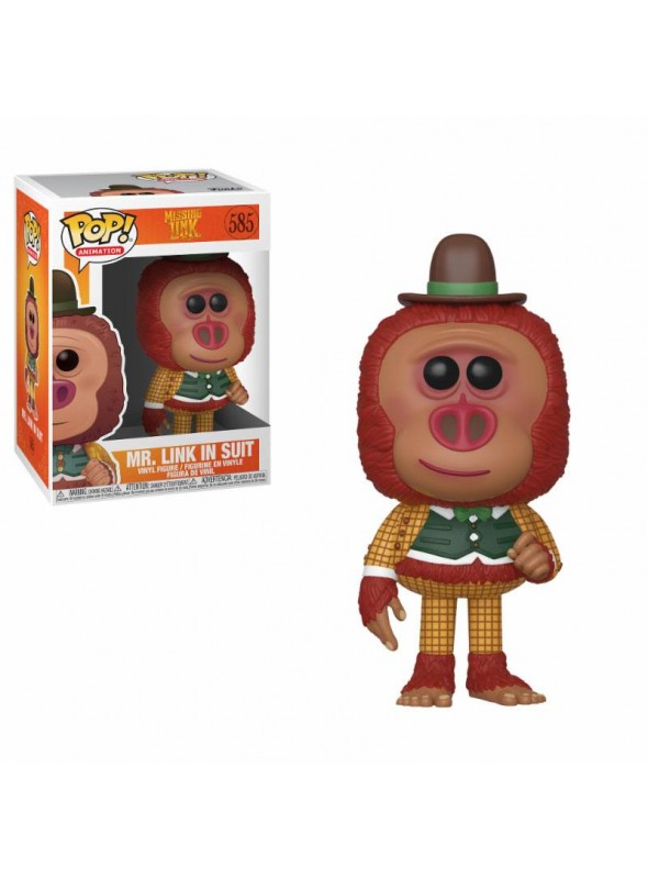 Figura Funko POP Mr. Link con Ropa - Missing Link