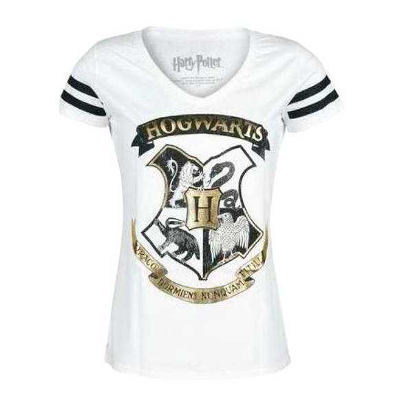 Camiseta Hogwarts Niña - Harry Potter