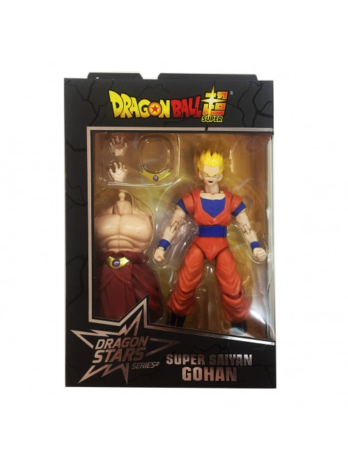 Figura Dragon Stars Super Saiyan Gohan 2 de 6 - Dragon Ball