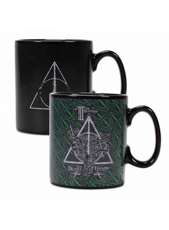 Taza sensible al calor Reliquias de la muerte - Harry Potter